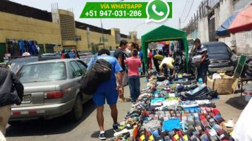 Vía WhatsApp: Ambulantes invaden la avenida Argentina