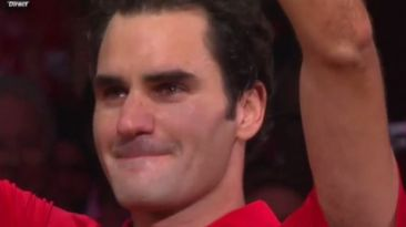YouTube: Federer conmueve llorando al ganar Copa Davis [VIDEO]