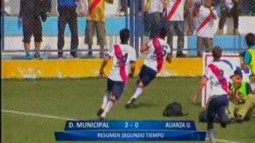 Municipal vs Alianza Universidad: ediles ganaron 2-0 en Segunda