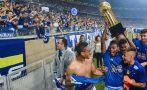 Cruzeiro venció 2-1 al Goiás y se coronó tetracampeón en Brasil