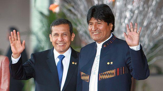 Evo Morales pide reunión con Humala por ruta de tren bioceánico