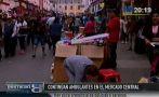 Ambulantes continúan invadiendo inmediaciones de Mesa Redonda