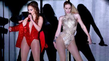 "JLo e Iggy Azalea cerraron los AMAS 2014 cantando ""Big Booty"""