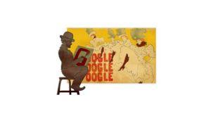 Henri de Toulouse Lautrec en el doodle de Google