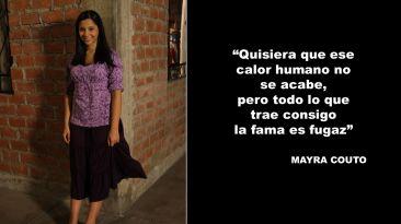 """Mayra Couto: su adiós a """"Al fondo hay sitio"""" en frases"""