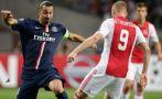 PSG vs. Ajax: parisinos ganan 1-0 con gol de Cavani
