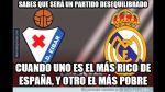 Real Madrid vs. Eibar: memes tras el triunfo de los merengues - Noticias de madrid