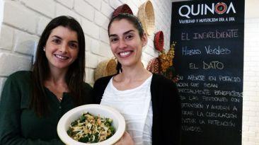 Quinoa te enseña a preparar una sabrosa espinaca achaufada
