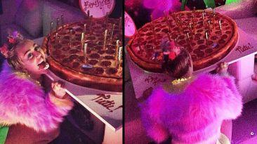 Instagram: Miley Cyrus celebró su cumpleaños con alocada fiesta