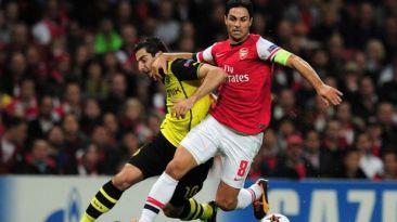 Arsenal vs. Borussia Dortmund: se enfrentan en Champions League
