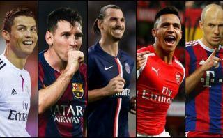 Cristiano Ronaldo y Lionel Messi nominados a once ideal UEFA