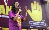 Nadine pide compromiso en lucha contra violencia a la mujer