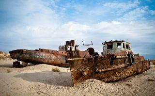 Mar de Aral, el cuarto lago más grande del mundo desaparece