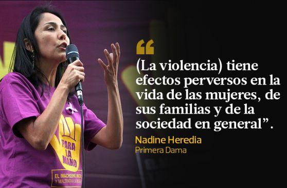 Las 10 frases políticas del Día contra la Violencia a la Mujer