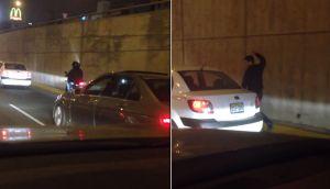 YouTube: terrible asalto con 'bujiazo' en la Javier Prado