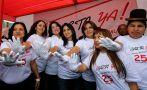 Parlamentarias peruanas rechazan la violencia contra la mujer