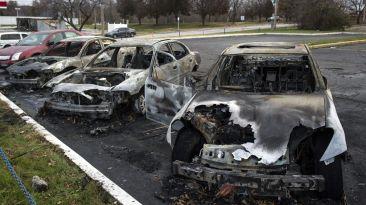 Caso Michael Brown: Ferguson luce como un campo de batalla