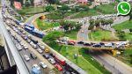 Costa Verde: cierre de vía ocasionó congestión en Barranco - Noticias de gerencia de transporte urbano