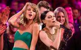 Taylor Swift: sus mejores reacciones en los AMA's en 10 gifs
