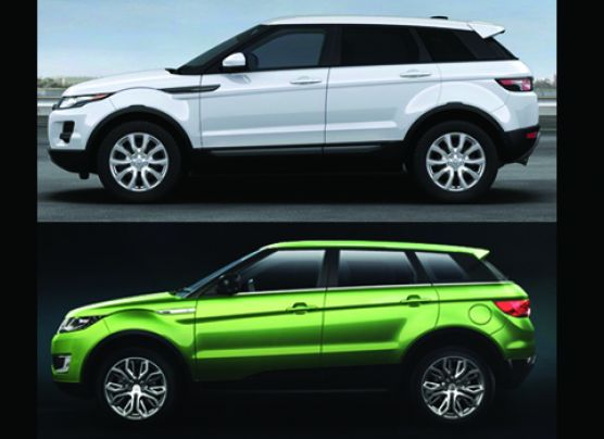 La copia china de la Range Rover Evoque