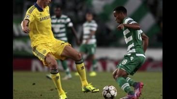 André Carrillo y el claro gol que falló en la Champions League