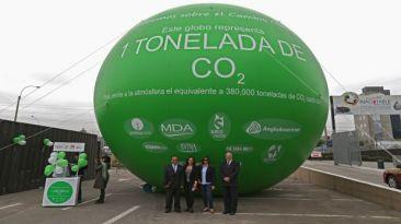 CO2 que Perú emite a diario equivale a 380 mil globos como este