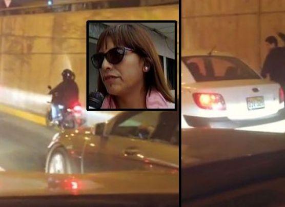 Víctima de 'bujiazo' en Javier Prado habló de terrible asalto