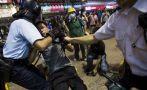 Hong Kong: Detienen a 86 jóvenes en desalojo de manifestantes