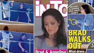 Angelina Jolie y Brad Pitt, ¿pelearon en balcón de un hotel?