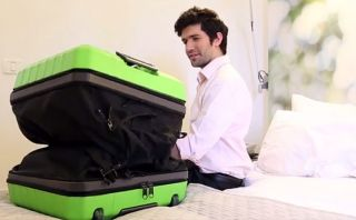 ¿Sin lugar en la maleta? Fugu se estira para que todo quepa ahí