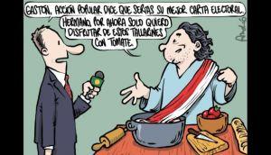 Twitter: Gastón Acurio respondió a caricatura de El Comercio