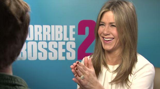 Las bromas pesadas de Aniston (+Video)