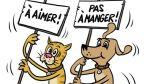Facebook: piden ilegalizar consumo de carne de perro en Suiza - Noticias de