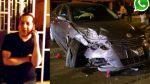 Vía WhatsApp: chocó un auto, confesó que estaba ebrio y fugó - Noticias de accidente