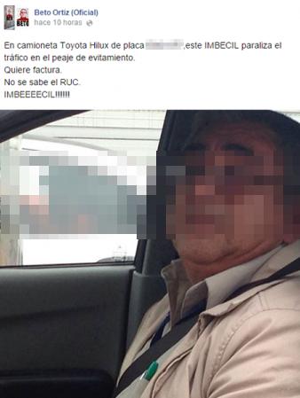 Beto Ortiz responde así tras controversia por post en Facebook