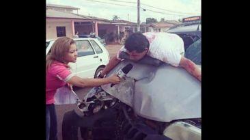Instagram: todos atacaron a la reportera por esta foto, pero...