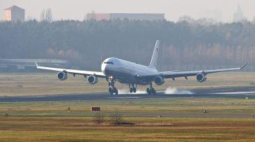 Robert Koch, el avión que transportará pacientes con ébola