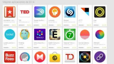 Estas son las mejores aplicaciones del 2014 para Google