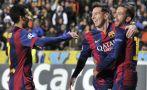 Barcelona de Messi prepara partido del domingo ante el Valencia