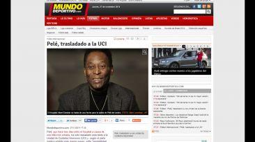 Pelé: así informa prensa internacional sobre su estado de salud