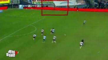 River Plate vs. Racing: ¿un fantasma apareció en pleno partido?