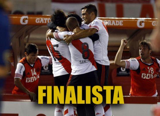 River ganó 1-0 a Boca y jugarán la final de Copa Sudamericana