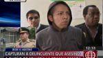 El Agustino: cayó presunto asesino de dueño de pollería - Noticias de socrates porta solano