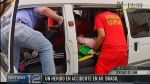 Jesús María: tres heridos deja accidente en la Av. Brasil - Noticias de liliana rojas