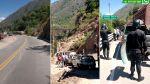 Vía WhatsApp: buses y camiones varados por bloqueo en Apurímac - Noticias de pasajero