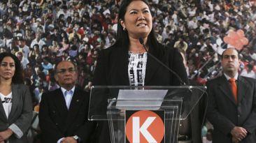 Fujimoristas acusan a Keiko de cálculo político