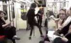 YouTube: Joven desafía las leyes de Irán con baile en el metro