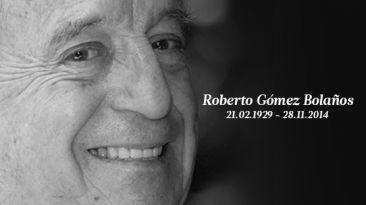Murió Chespirito: Roberto Gómez Bolaños se fue a los 85 años