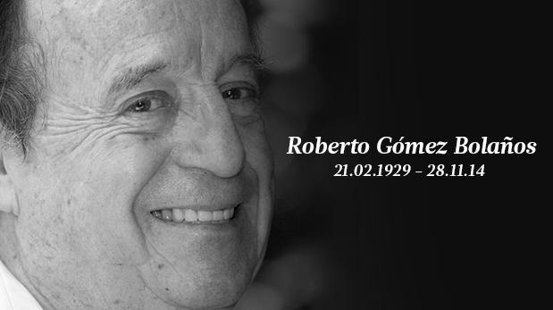 Murió Chespirito: Roberto Gómez Bolaños nos dejó a los 85 años