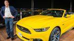 Ford Mustang 2015 subió al edificio más alto del mundo - Noticias de mustang
